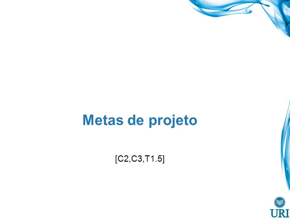 Metas de projeto [C2,C3,T1.5]